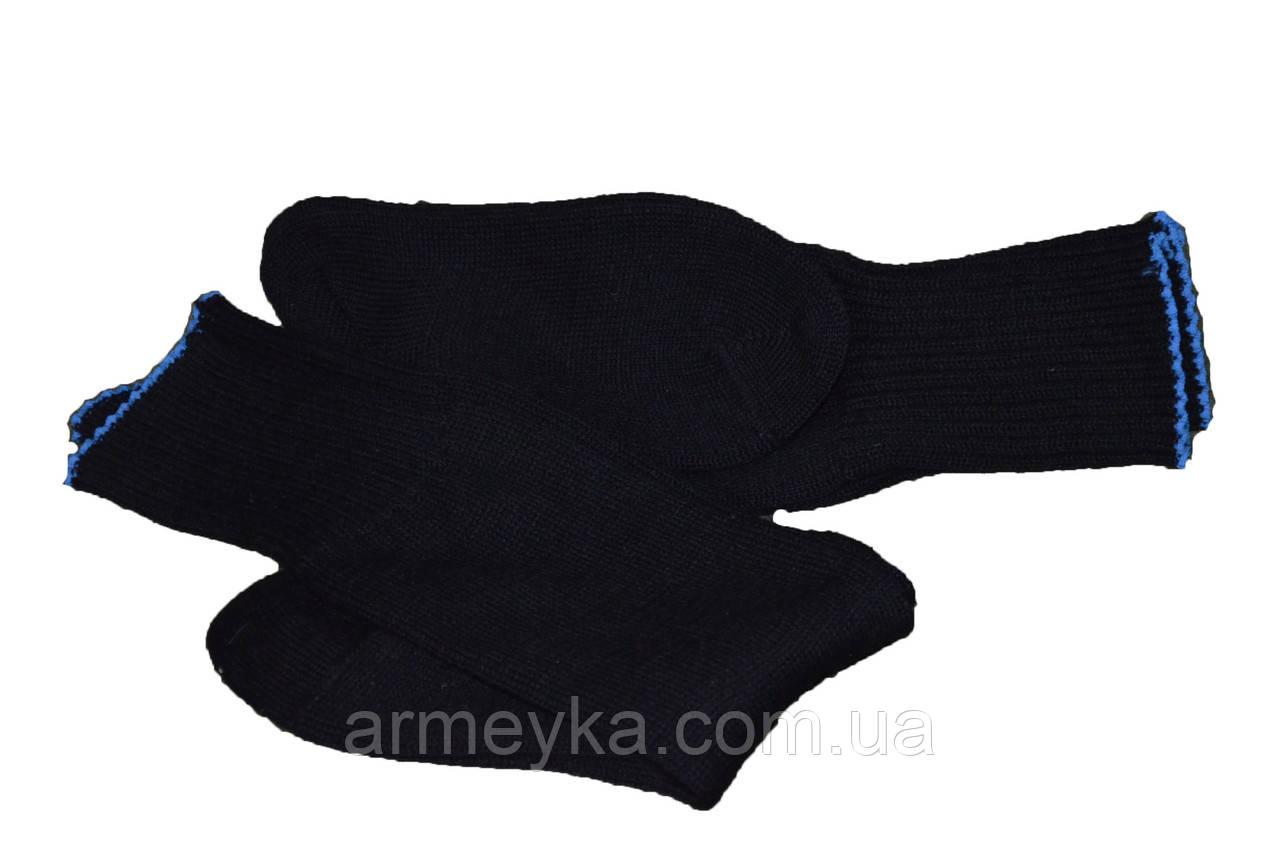 Зимние армейские носки ВС Голландии, оригинал (черные). НОВЫЕ