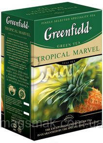 Чай Greenfield Tropical Marvel, 100 г