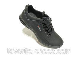 Кожаные мужские кроссовки columbia