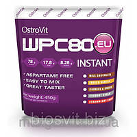Ostrovit -WPC 80.eu INSTANT (78% protein) 450g.Это последняя версия от OstroVit самого популярного и хита