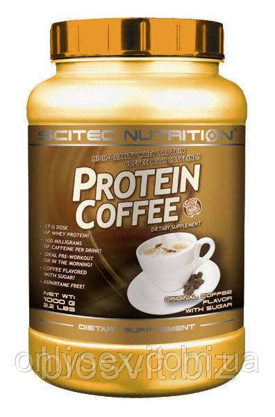 Scitec Nutrition- Protein Coffee 1000 g or.co.(with sugar)Протеин - onlysex в Киеве