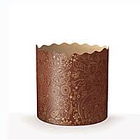 Бумажная (пергаментная) форма для куличей (пасок), 9*8,5см, Италия