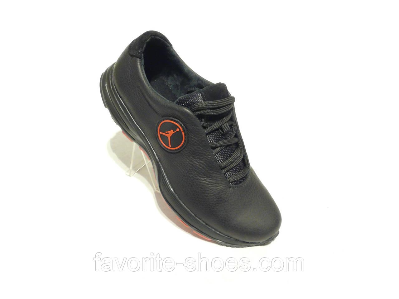 Кожаные мужские кроссовки JORDAN пена 40 размер