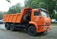 Заказать самосвал 10-20 тонн. Вывоз мусора. Песок. Щебень