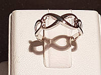 Серебряное кольцо Бесконечность. Артикул 901-00443