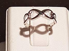 Срібне кільце Нескінченність. Артикул 901-00443 15