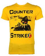 Футболка мужская 17216 counter strike (лето)