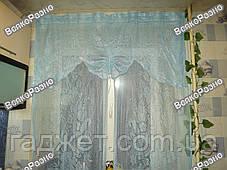 Гардина на кухню / Штора на кухню / Гардина на окно. В наличии 3 цвета!!!, фото 3