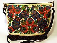Женская джинсовая стеганная сумочка Весна 2