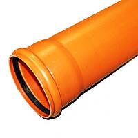 Труба для наружной канализации 110х1000х2,7 мм