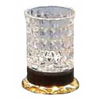 Стакан для зубных щеток настольный Kugu Freestand 250G&B, золото/черный