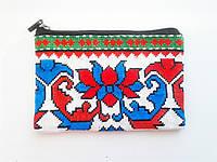 Сумочка-косметичка. Вышивка. Узбекистан