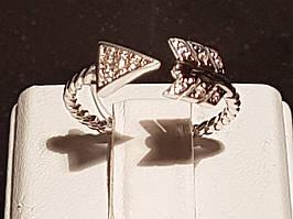 Срібне кільце з фіанітами. Артикул 901-00969 15