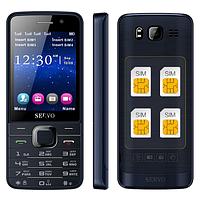 """Телефон на 4 Сим-карты экран 2,8"""" дюймов SERVO V9500"""
