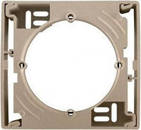 Коробка для наружного монтажа одиночная Schneider Electric Asfora Бронза
