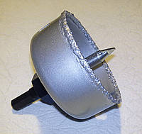 Коронка вольфрамовая с направляющим сверлом 67 мм
