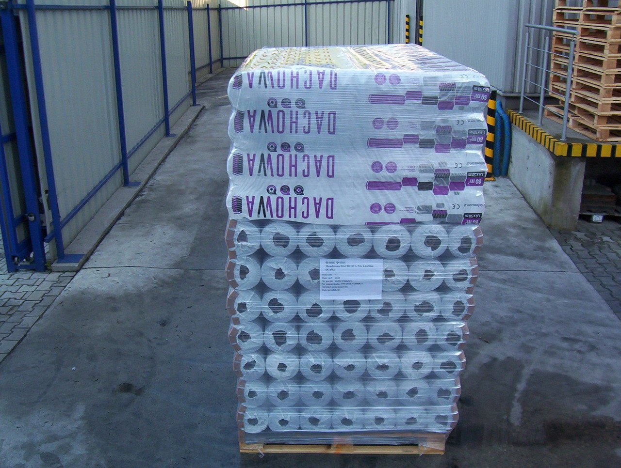 Dachowa Marma 115 g/m2 80 m2 - гідроізоляційна супердифузійна покрівельна мембрана