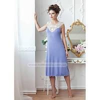 1194 Ночная рубашка женская из вискозы Violetta Komilfo (Сирень)