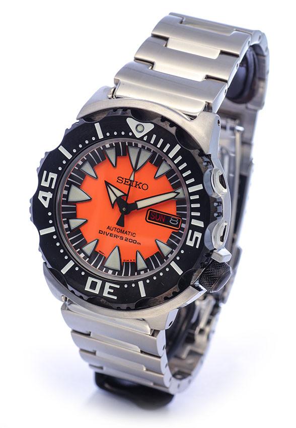 Часы Seiko Orange Monster SRP315K2 Automatic Diver's