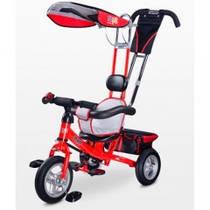 Велосипед с ручкой Caretero Derby, цвет red