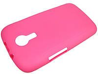 Силиконовый чехол для Fly IQ239 Era Nano Розовый