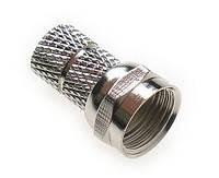 F-вилка на кабель (KF3-0001A RG58/U) (ВЧ-разъем)