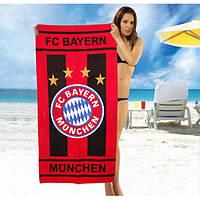 Красное полотенце FC Bayern Munchen - №2049