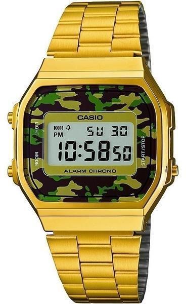 Наручные мужские часы Casio A168WEGC-3EF оригинал