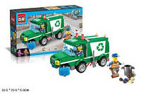 Конструктор детский Brick Уборочная машина 1111
