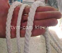 Канат плетеный 12-прядный хлопок ф10,5мм