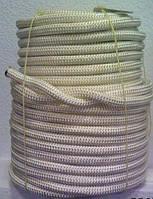 Шнур плетеный ПП ф5мм с сердцевиной цветн