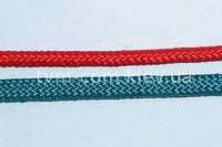 Шнур плетеный К\ оплетка ПП ф6мм цвет.