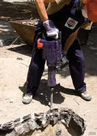 Услуги электрического отбойного молотка. Демонтажные работы.