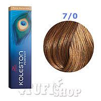 Краска для волос Wella Koleston Perfect № 7/0 (средний блонд) - pure naturals
