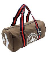 Спортивная сумка-бочонок CONVERSE Training V23л кофе 4975-ВR