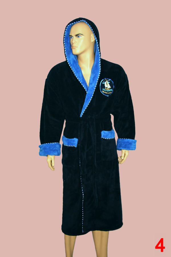 3b053b428b27 Халат мужской пушистый c капюшоном фирмы MASSIMO MONELLI : продажа ...