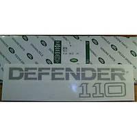 Land Rover Defender 110 эмблема значок стикер на крышку багажника Новый Оригинал
