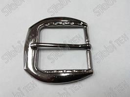 Пряжка литая 30мм блэк никель №746
