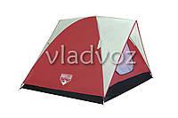 Палатка Woodlands красная двух местная с чехлом
