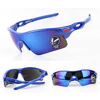 Очки для спорта синего цвета Oulaiou
