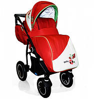 Детская Универсальная коляска Geoby - с надувными колесами, москитка, дождевик, сумка для мамы, насос