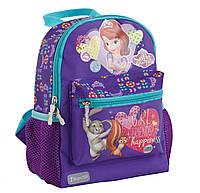 Ранец детский К-16 Sofia purple 553439