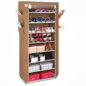 Тканевый шкаф для обуви и аксессуаров Shoe Rack and Wardrobe YQF-1190, фото 2