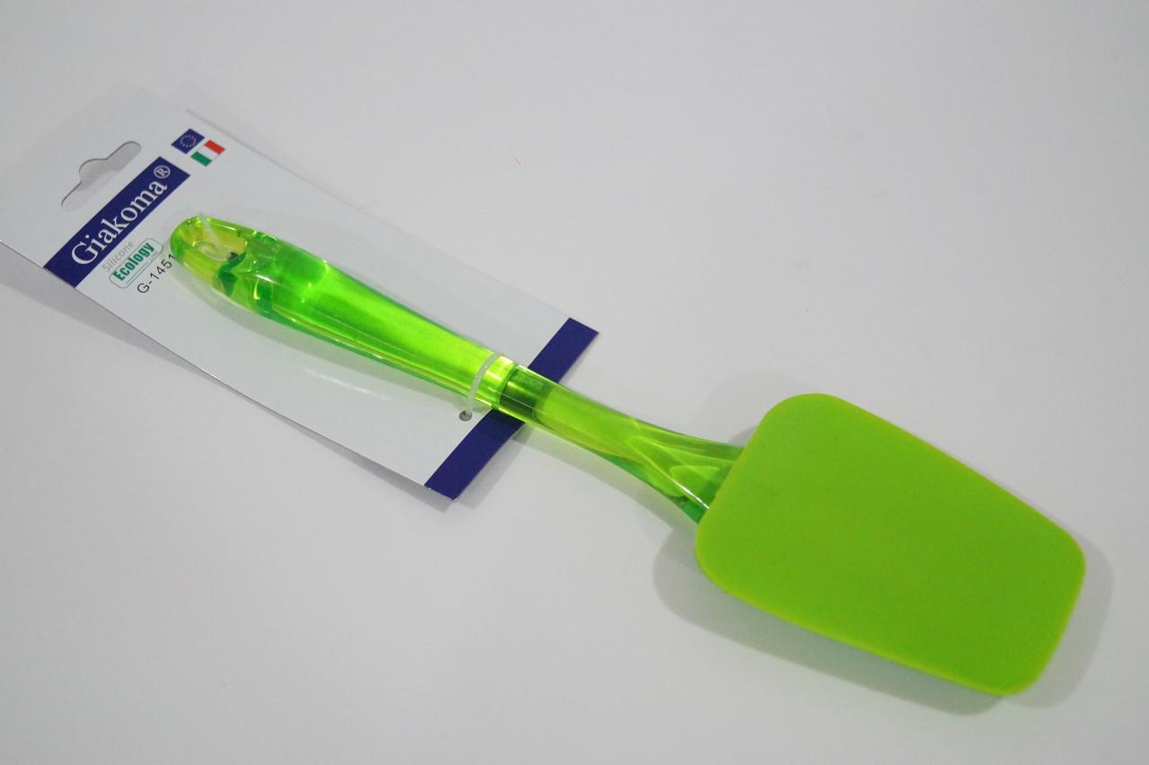 Силиконовая лопатка для тефлоновой и керамической сковородки и мультиварки Giakoma G-1451