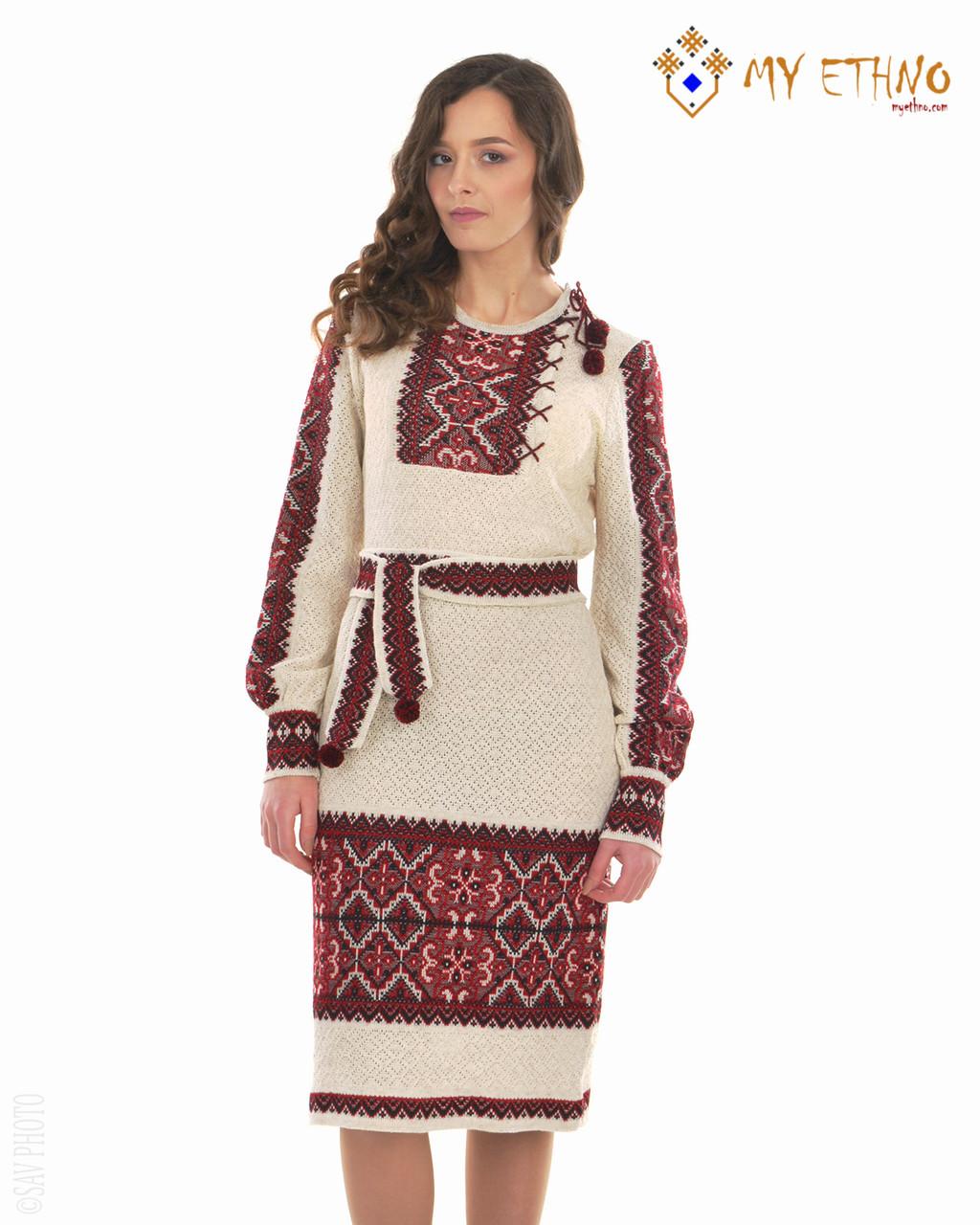 Вязаное платье Влада с вставкой