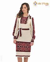 Вязаное платье Влада с вставкой, фото 1