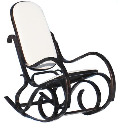 Кресло качалка  темное ткань Canvas C, фото 2