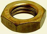 Гайка латунна М16 ГОСТ 5916-70 DIN 439, фото 2