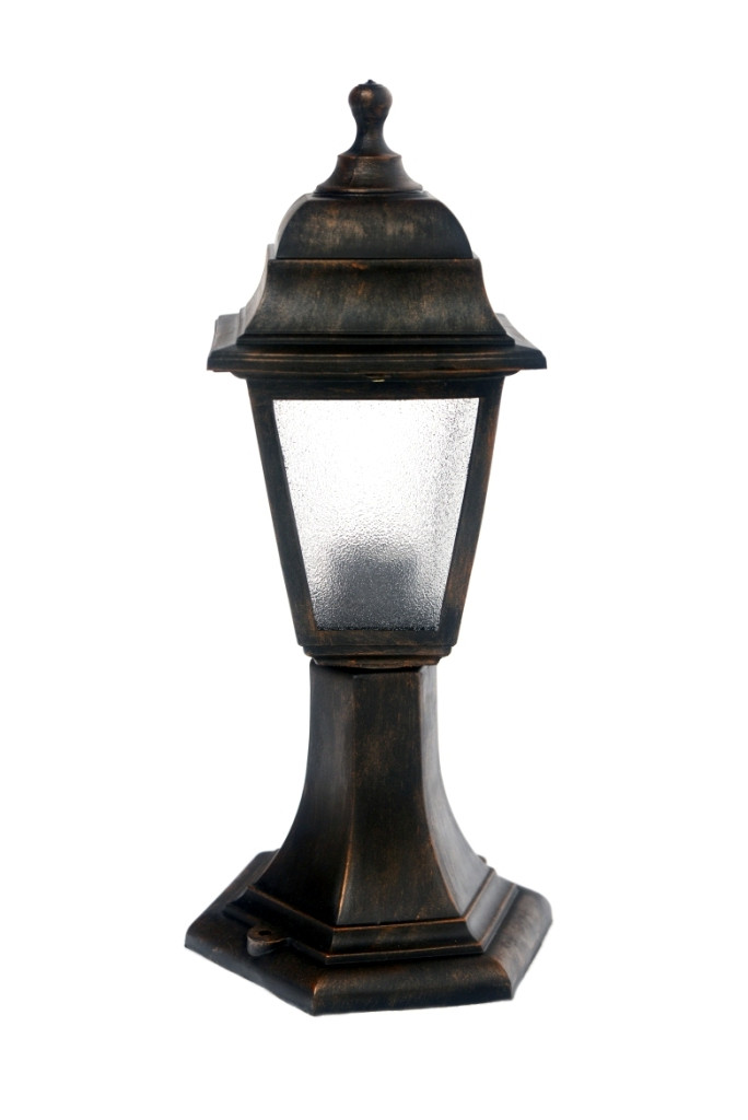 Светильник парковый (столбик)h=43cм НГ04 мат.ст.бронза