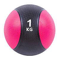 Мяч медицинский (медбол)  1кг D=19см. SC-87034-1